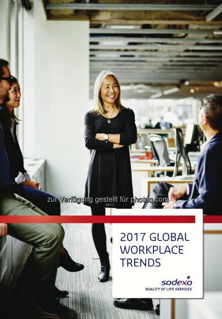 Sodexo Services GmbH: Sodexo präsentiert Trends, die 2017 die globale Arbeitswelt prägen (Fotocredit: obs/Sodexo Services GmbH), © Aussender (21.02.2017)