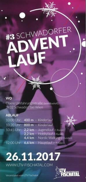Schwadorfer Adventlauf (21.02.2017)
