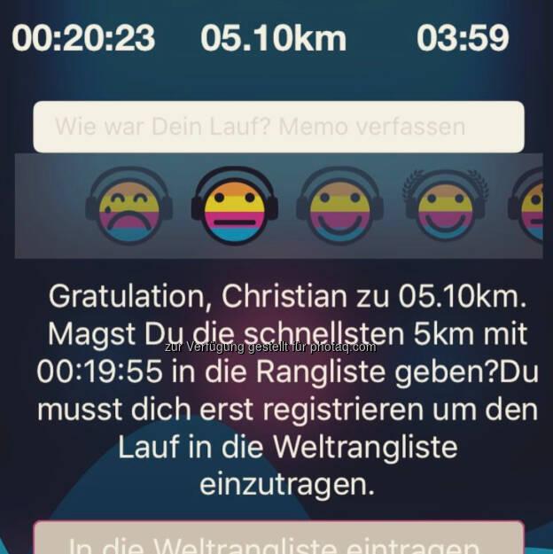 Zwischenstopp 5k in 19:55 (22.02.2017)