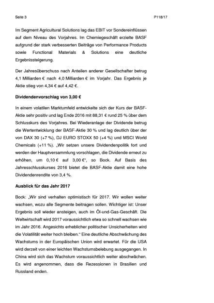 BASF: Umsatz und Ergebnis im 4. Quartal deutlich über Vorjahresquartal, Seite 3/8, komplettes Dokument unter http://boerse-social.com/static/uploads/file_2127_basf_umsatz_und_ergebnis_im_4_quartal_deutlich_uber_vorjahresquartal.pdf