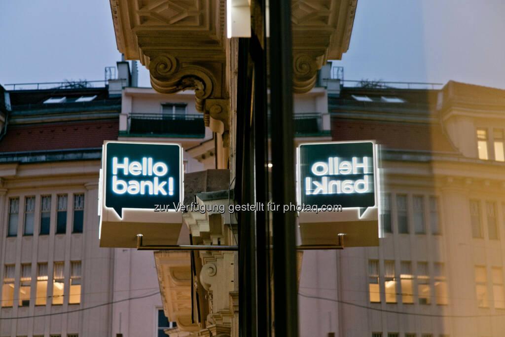 Hello Bank, Wien, 20151209, (c)wildbild, © Aussendung (24.02.2017)