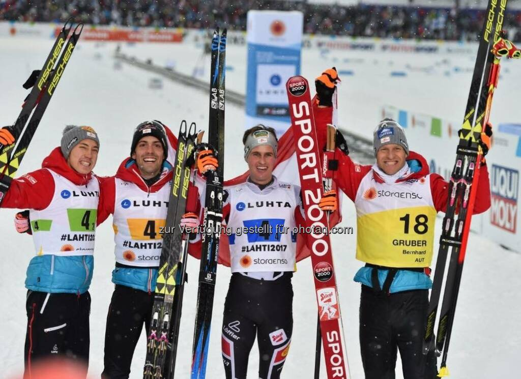 Mario Seidl, Philipp Orter, Paul Gerstgraser, Bernhard Gruber (26.02.2017)