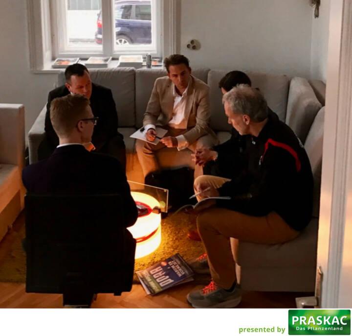 CFD World Austria: Gabor Mehringer, Richard Dobetsberger, Valerie Heller, Christian Drastil, Dino Villhauer
