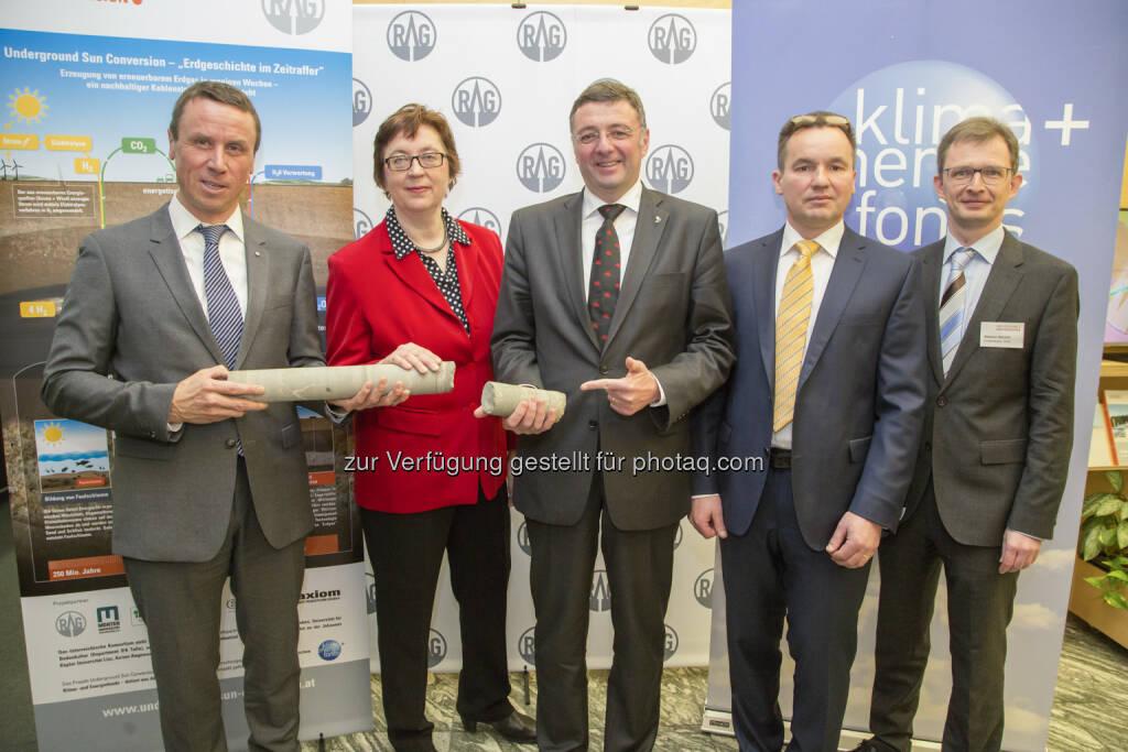 Klima- und Energiefonds: Erneuerbare Energie – Weltpremiere: Österreich erzeugt Erdgas aus Sonnen- und Windenergie (Fotocredit: Krisztian Juhasz), © Aussender (02.03.2017)