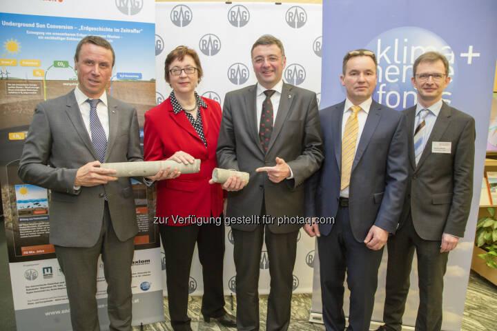 Klima- und Energiefonds: Erneuerbare Energie – Weltpremiere: Österreich erzeugt Erdgas aus Sonnen- und Windenergie (Fotocredit: Krisztian Juhasz)