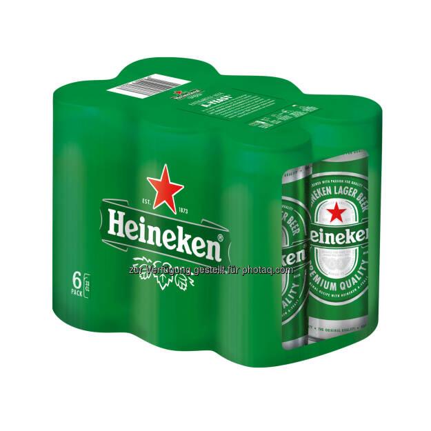 """Brau Union Österreich AG: Neues Dosenformat für Trendsetter: Heineken ® präsentiert stilvolle """"Sleek Can"""" (Fotocredit: Brau Union Österreich), © Aussendung (03.03.2017)"""