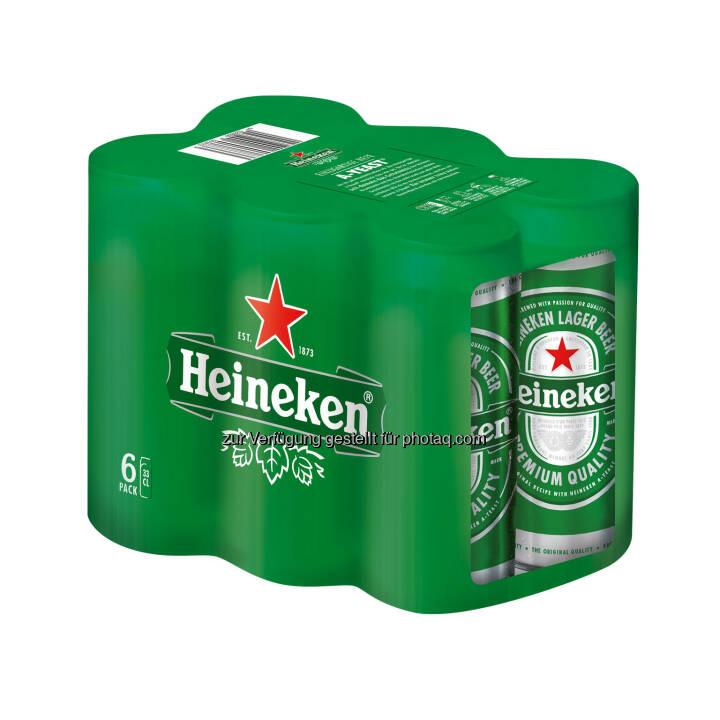 """Brau Union Österreich AG: Neues Dosenformat für Trendsetter: Heineken ® präsentiert stilvolle """"Sleek Can"""" (Fotocredit: Brau Union Österreich)"""