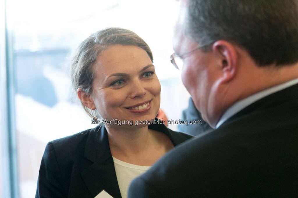 Kornelia Lindschinger (RBS), © Martina Draper für BE / finanzmarktfoto.at (14.05.2013)