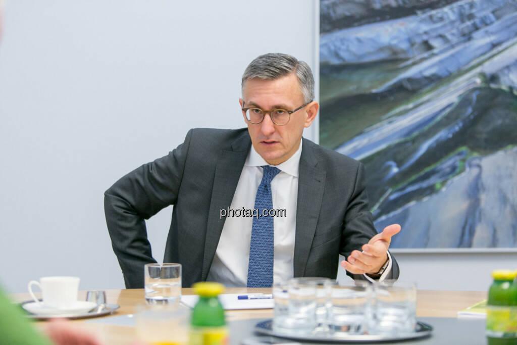 Robert Ottel (voestalpine, Aktienforum), © Martina Draper/photaq (03.03.2017)