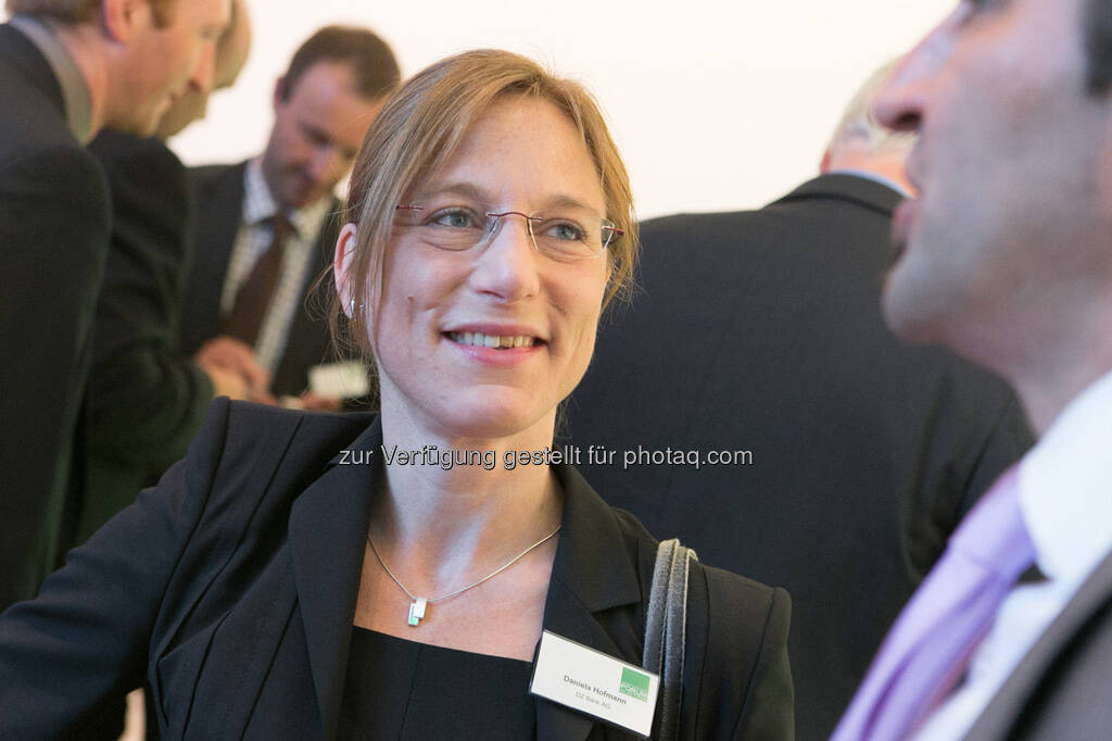 Daniela Hofmann (DZ Bank), © Martina Draper für BE / finanzmarktfoto.at (14.05.2013)