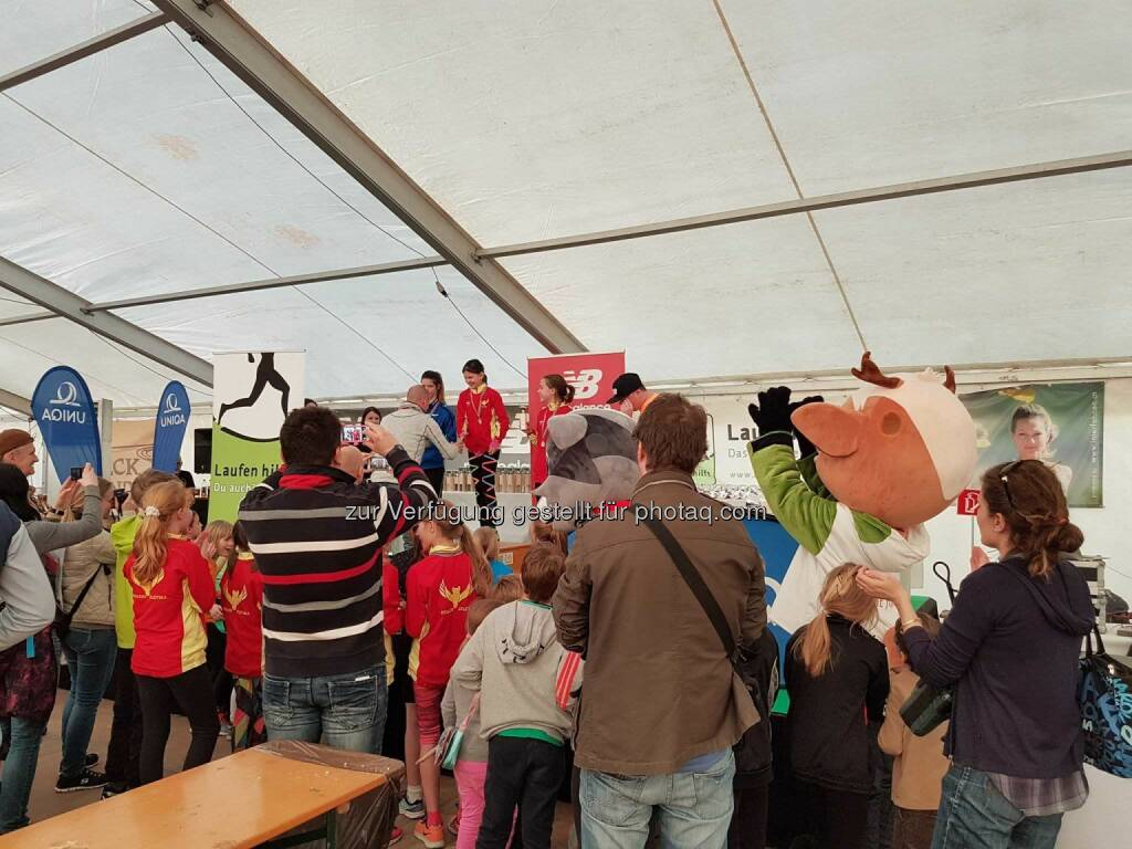 Laufen Hilft, Siegerehrung Kinderläufe (04.03.2017)