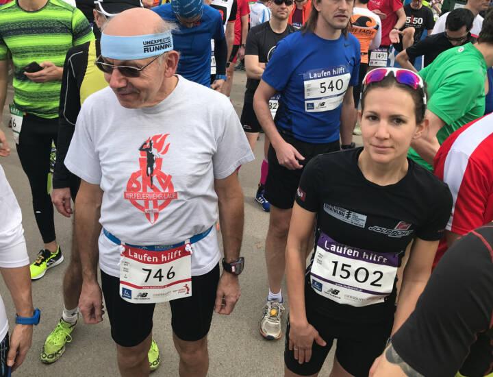 Start Laufen hilft Marisa Leitner