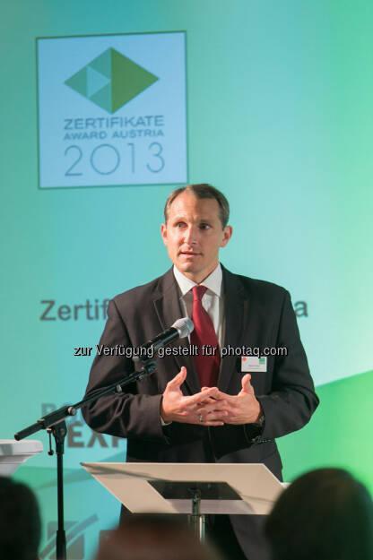 Stefan Dörfler (Erste Group), © Martina Draper für BE / finanzmarktfoto.at (14.05.2013)