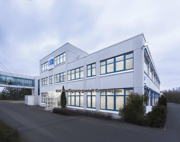 Firmensitz in Cadolzburg: AVL DiTEST Deutschland entfaltet sich im repräsentativen Bürokomplex passend zur Unternehmenskultur. - AVL DITEST: Raum für Kreativität: Gemeinsam Zukunft gestalten (Fotocredit: AVL DiTEST)
