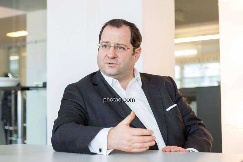 Daniel Riedl (CEO Buwog), © Martina Draper/photaq (07.03.2017)