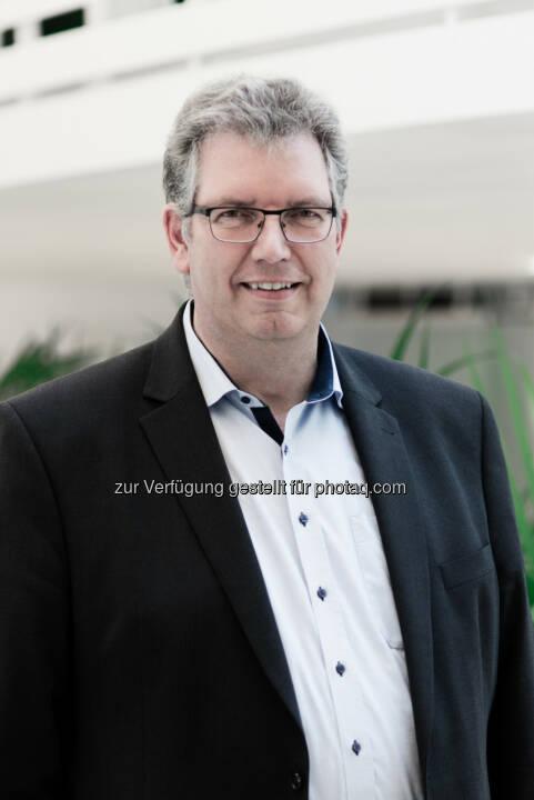 Christian Bischoff, CEO Log4Real - epmedia Werbeagentur GmbH: Log4Real entwickelt mit dem INDUSTRIAL CAMPUS VIENNA EAST den größten und modernsten Logistik-Campus in Österreich. (Fotocredit: Log4Real)