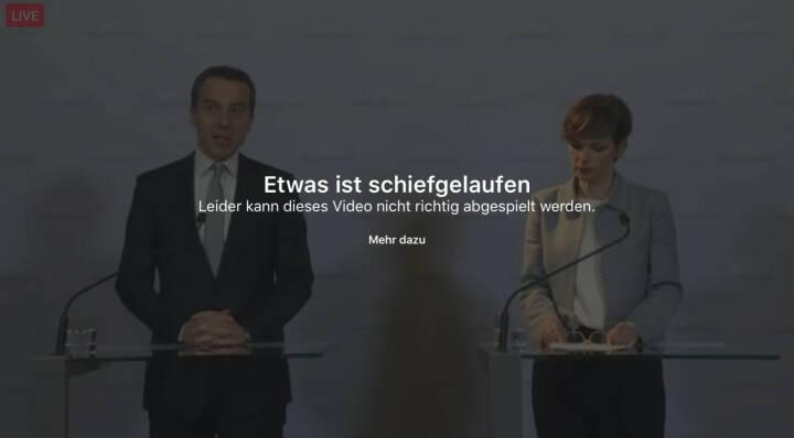 Error Fehler SPÖ