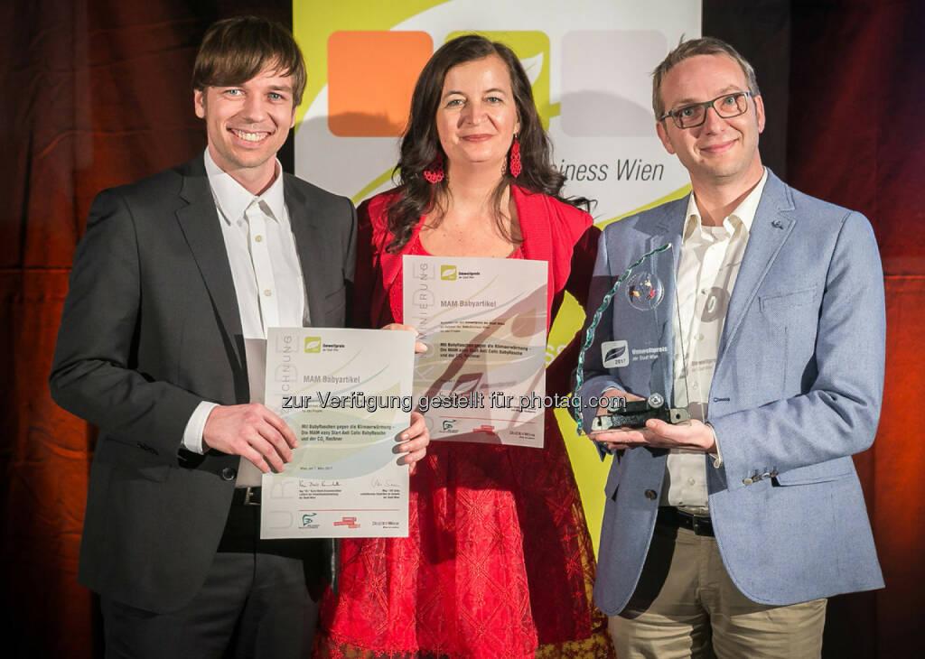 Umweltpreis 2017 - MAM Babyartikel (c) Houdek, © Aussender (08.03.2017)