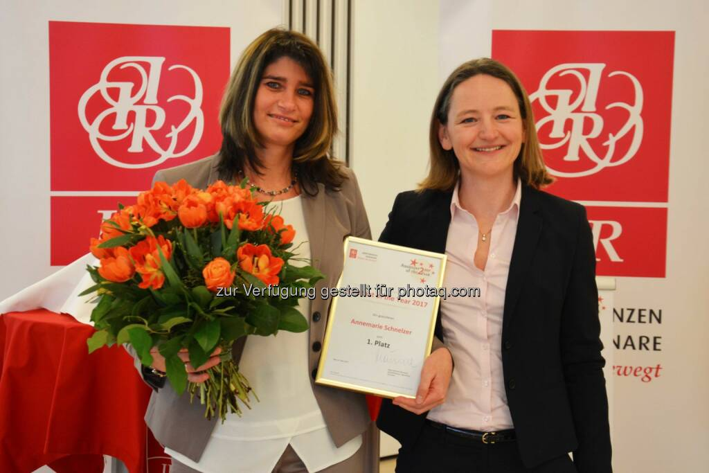 Annemarie Schnelzer, Österreichische Bundesforste AG; DI Barbara Steffl, IIR GmbH - IIR GmbH: Professionelles Office Management ist keine Selbstverständlichkeit (Fotocredit: IIR GmbH), © Aussender (08.03.2017)
