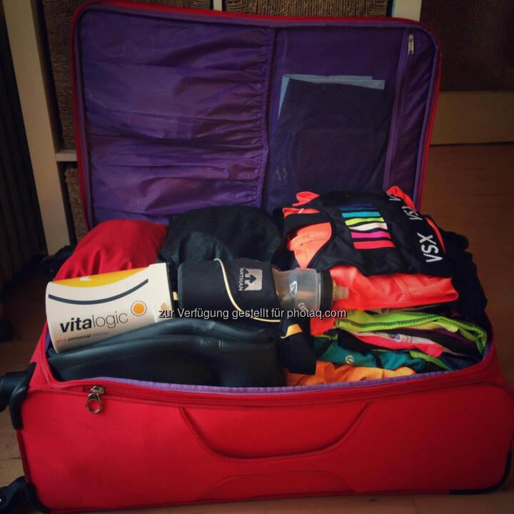 Koffer, packen