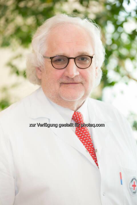 Univ. Prof. Dr. Hubert Pehamberger, Ärztlicher Leiter Rudolfinerhaus - Rudolfinerhaus: Neues Schmerzzentrum in der Privatklinik Rudolfinerhaus (Fotocredit: Rudolfinerhaus / Anna Rauchenberger)