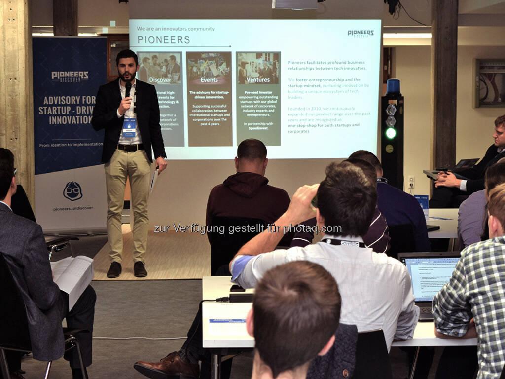 Andritz Hackathon unter Mithilfe von Pioneers Discover (Fotocredit: Pioneers Discover) (09.03.2017)