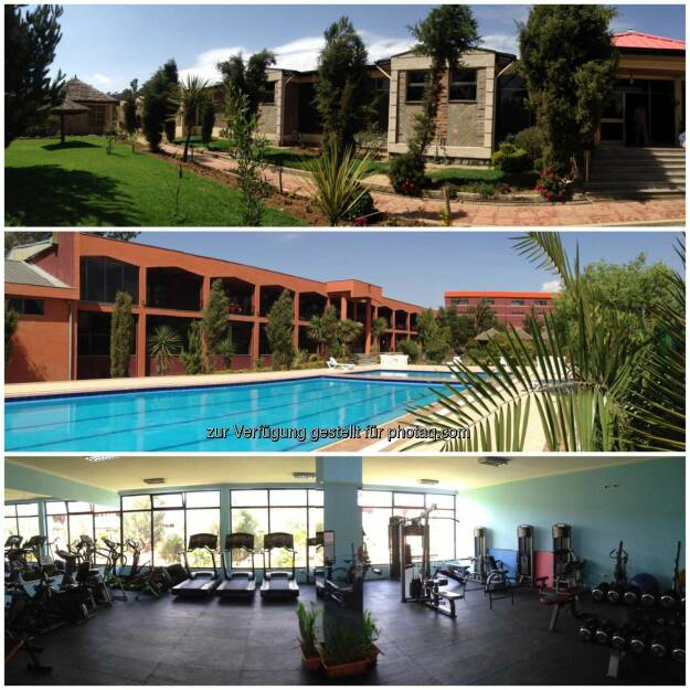 Hotelanlage, Pool, Gym (09.03.2017)