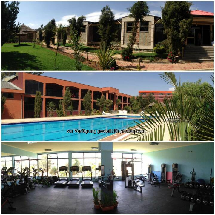 Hotelanlage, Pool, Gym