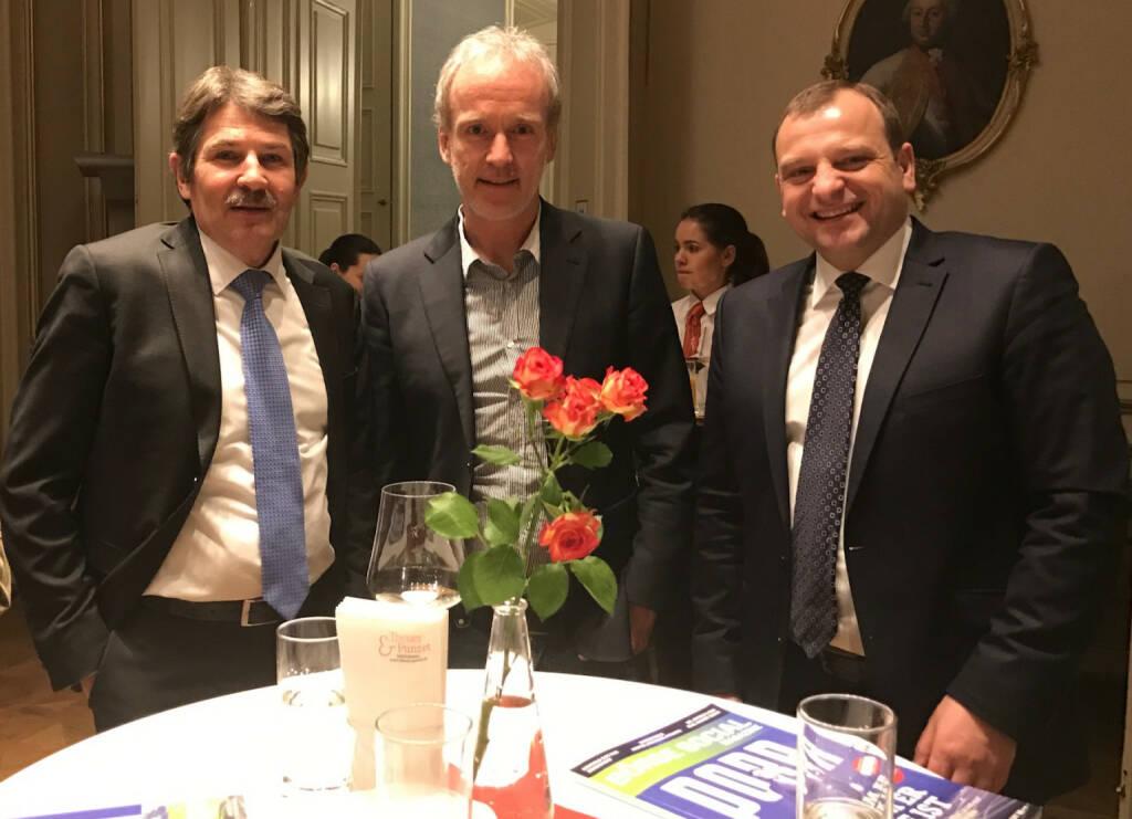 Ernst Vejdovszky, Christian Drastil, Wolfgang Dorner (09.03.2017)