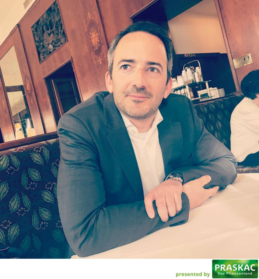 Mit Manuel Taverne (FACC) im Landtmann (09.03.2017)