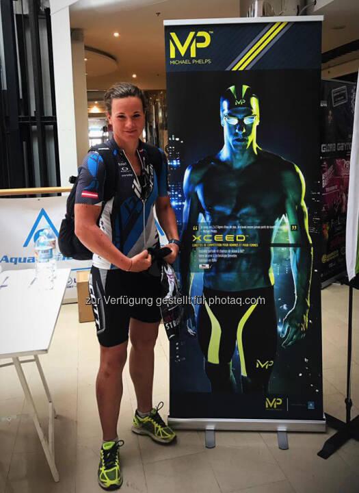 Tanja Stroschneider, Michael Phelps