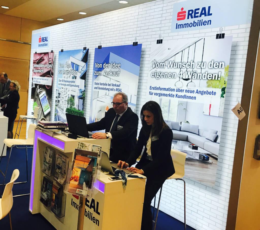 S Real Immobilien auf der Wohnen und Interieur Messe in Wien 2017 (12.03.2017)