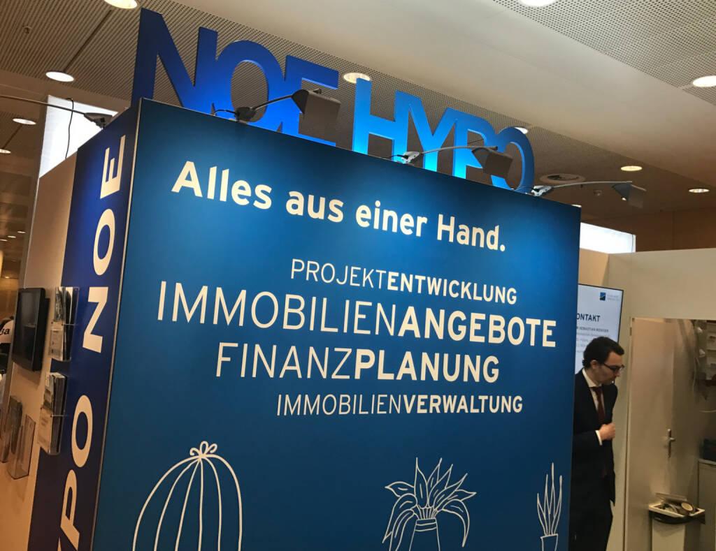 Noe Hypo auf der Wohnen und Interieur Messe in Wien 2017 (12.03.2017)