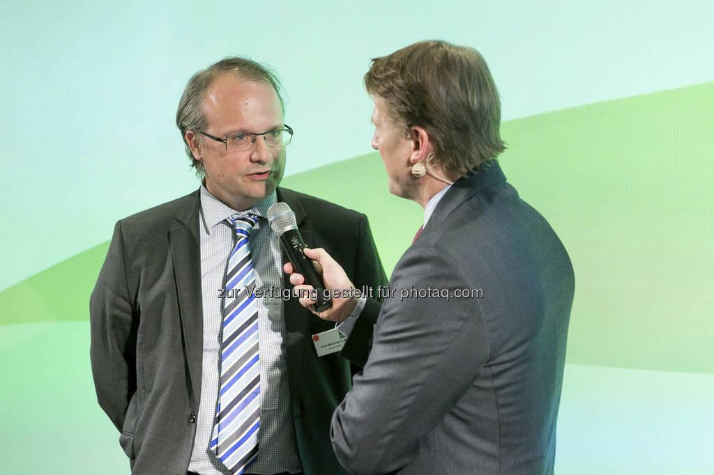 Ernst Marschner (Ernst & Young), Lars Brandau (Deutscher Derivate Verband), © Martina Draper für BE / finanzmarktfoto.at (14.05.2013)