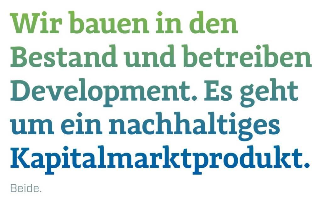 Wir bauen in den Bestand und betreiben Development. Es geht um ein nachhaltiges Kapitalmarktprodukt. Daniel Riedl, CEO Buwog, Andreas Segal, Deputy CEO & CFO Buwog, © photaq.com/Börse Social Magazine (12.03.2017)
