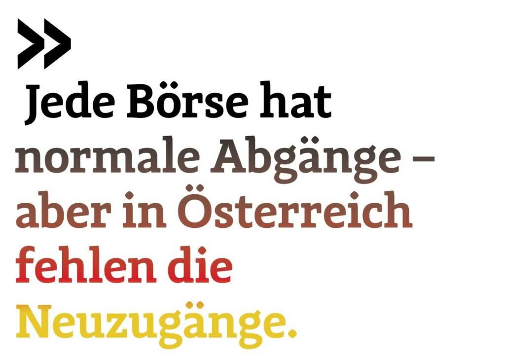 Jede Börse hat normale Abgänge – aber in Österreich fehlen die Neuzugänge. German of the Board Christoph Scherbaum, © photaq.com/Börse Social Magazine (12.03.2017)