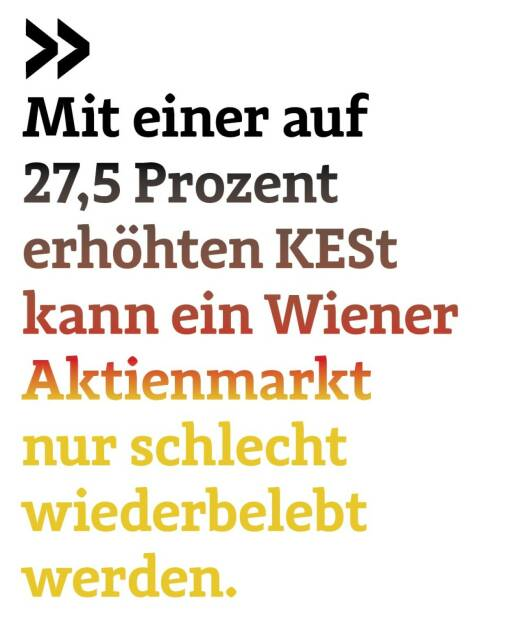 Mit einer auf 27,5 Prozent erhöhten KESt kann ein Wiener Aktienmarkt nur schlecht wiederbelebt werden. German of the Board Christoph Scherbaum, © photaq.com/Börse Social Magazine (12.03.2017)