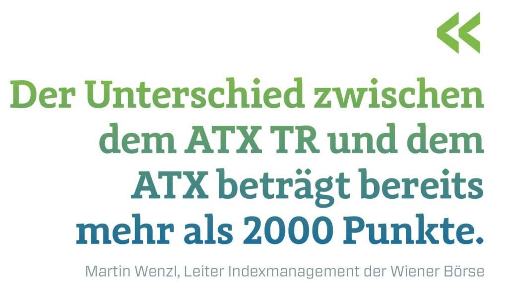 Der Unterschied zwischen dem ATX TR und dem ATX beträgt bereits mehr als 2000 Punkte. Martin Wenzl, Leiter Indexmanagement der Wiener Börse, © photaq.com/Börse Social Magazine (12.03.2017)