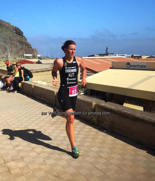 Tanja Stroschneider, laufen, Triathlon, Teneriffa, © Tanja Stroschneider (13.03.2017)