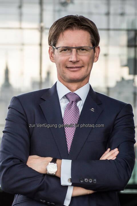 Andreas Kößl, Vorstand UNIQA Österreich - UNIQA Insurance Group AG: UNIQA Österreich lanciert neues Produkt für Hausverwalter und Immobilienbesitzer (Fotocredit: Rudi Froese)