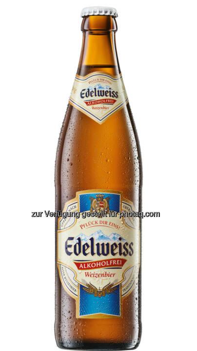Edelweiss Alkoholfrei - bei den International Brewing Awards ausgezeichnet - Brau Union Österreich AG: International Brewing & Cider Awards: Auszeichnungen für Edelweiss Alkoholfrei und Strongbow (Fotocredit: Brau Union Österreich)