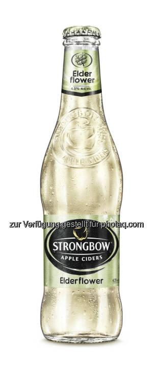 Strongbow Elderflower - bei den International Brewing & Cider Awards ausgezeichnet - Brau Union Österreich AG: International Brewing & Cider Awards: Auszeichnungen für Edelweiss Alkoholfrei und Strongbow (Fotocredit: Brau Union Österreich)