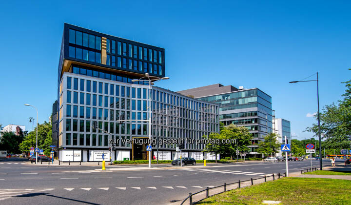 Das Projekt kroLEWska des Projektentwicklers S+B Gruppe AG in Warschau. - S+B Gruppe AG: S+B GRUPPE: Vier Gewinnt – LEED PLATIN Quartett! (Fotocredit: S+B)