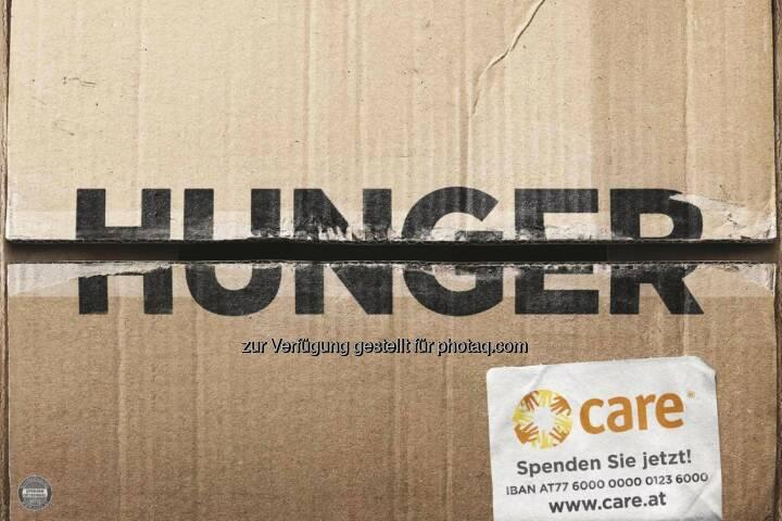 CARE Österreich: Neue Kampagne von CARE Österreich macht Hunger und Armut einen Strich durch die Rechnung (Fotocredit: WIEN NORD für CARE)