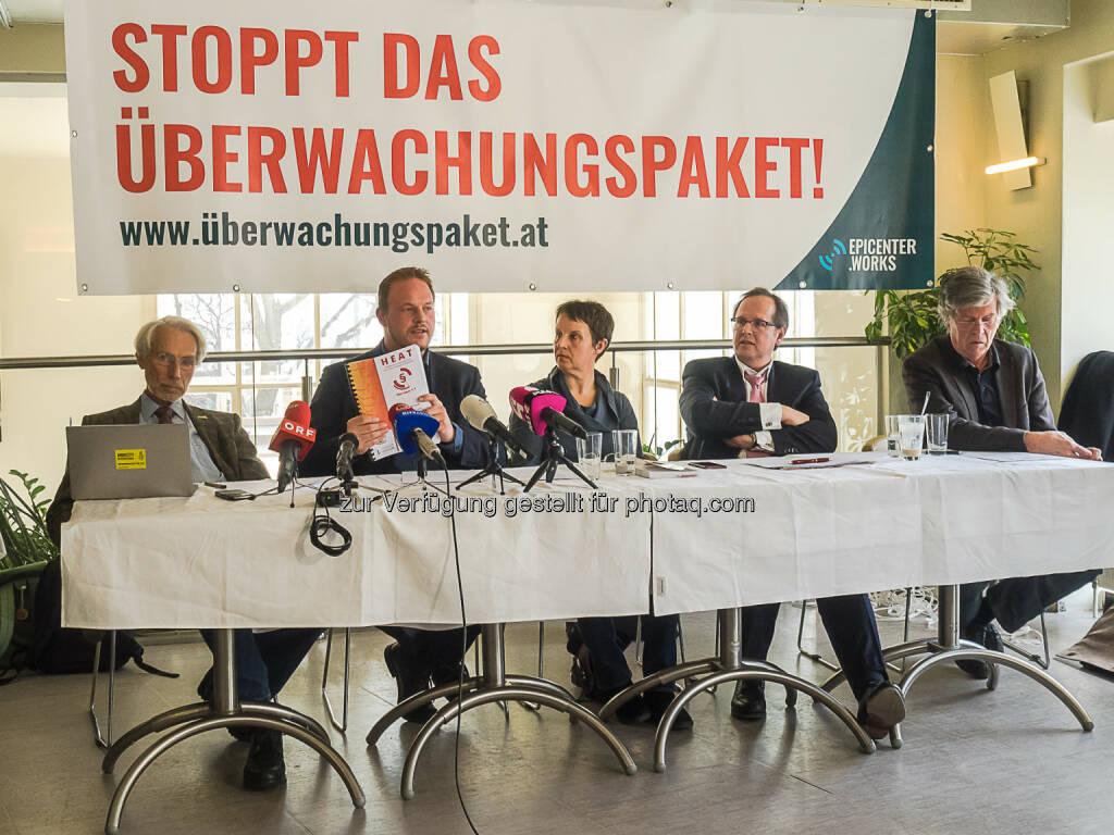 epicenter.works: Widerstand gegen das Überwachungspaket formiert sich (Fotocredit: Karola Riegler, epicenter.works), © Aussender (14.03.2017)