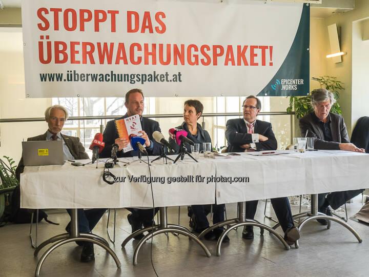 epicenter.works: Widerstand gegen das Überwachungspaket formiert sich (Fotocredit: Karola Riegler, epicenter.works)