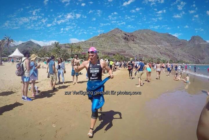 Tanja Stroschneider, Strand, Triathlon, Teneriffa