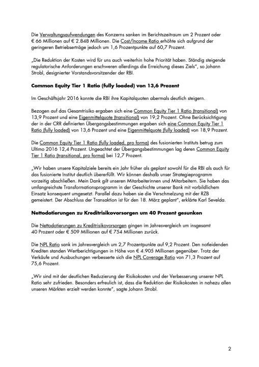 RBI: Konzernergebnis von 463 Millionen Euro, Seite 2/5, komplettes Dokument unter http://boerse-social.com/static/uploads/file_2161_rbi_konzernergebnis_von_463_millionen_euro.pdf