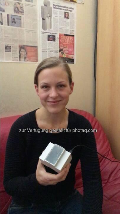 Elena Adler von OwnYourData bei der Quintessenz - OwnYourData.eu: Wenn Früchte Daten tragen (Fotocredit: Verein zur Förderung der selbstständigen Nutzung von Daten)