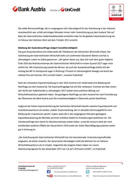 Bank Austria Konjunkturindikator: Prognose für BIP-Wachstum 2017 erhöht, Seite 3/6, komplettes Dokument unter http://boerse-social.com/static/uploads/file_2163_bank_austria_konjunkturindikator_prognose_fur_bip-wachstum_2017_erhoht.pdf (15.03.2017)